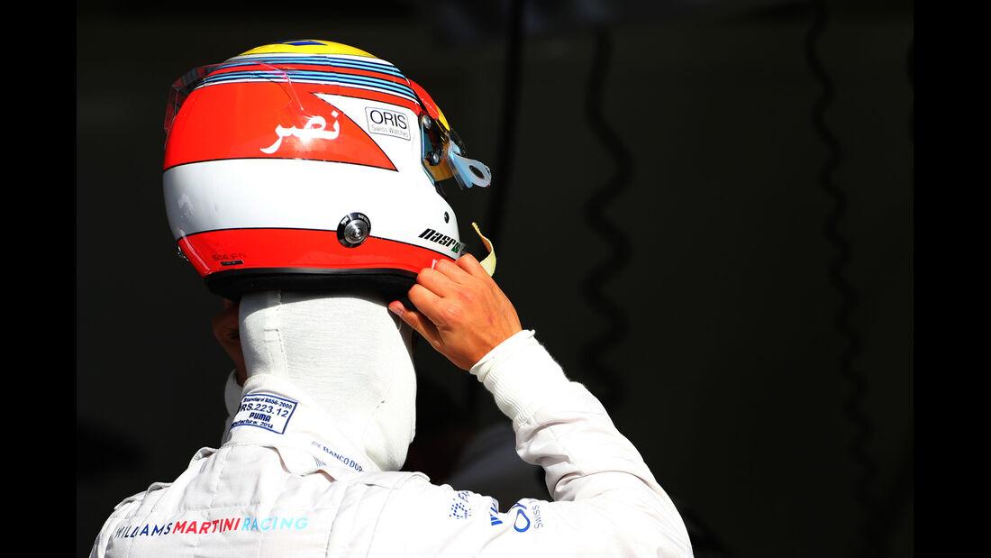 Felipe Nasr - Williams - Formel 1 - Test - GP Bahrain - 9. April 2014