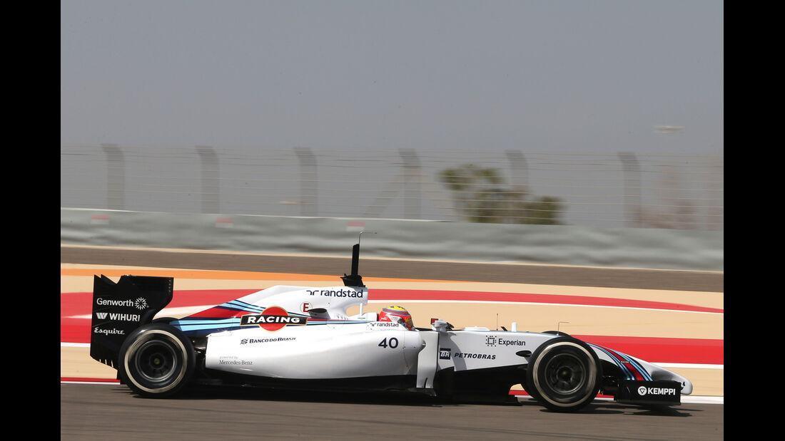 Felipe Nasr - Williams - GP Bahrain - Test 2 - 9. April 2014