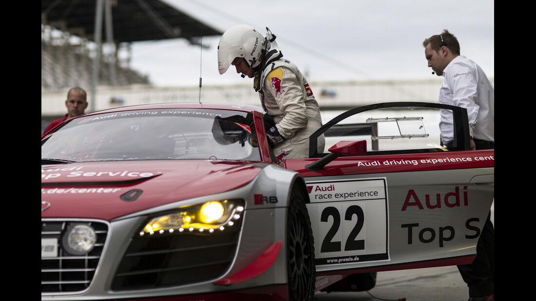 Felix Baumgartner - Audi Race Experience - 24h Rennen - Nürburgring Nordschleife -20. Juni 2014