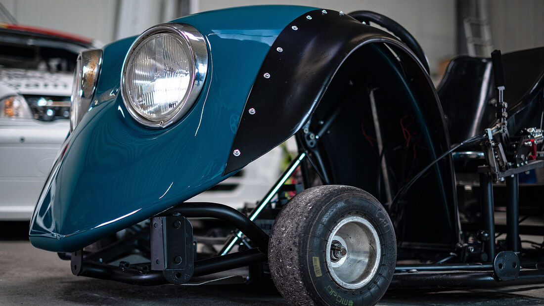 Fenderkart aus VW Käfer Kotflügeln