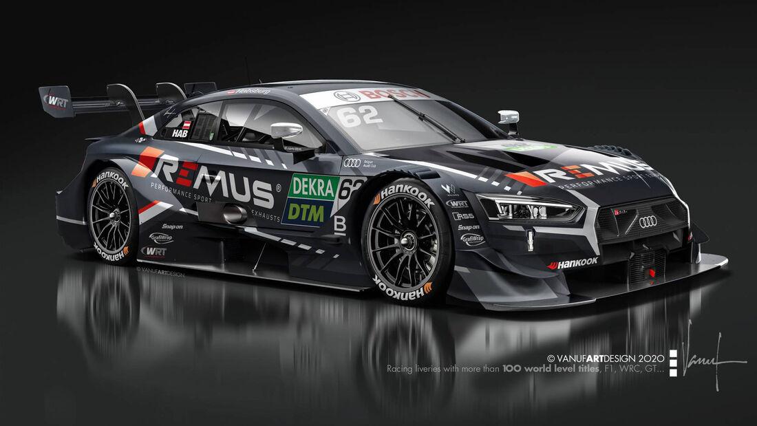 Ferdinand Habsburg - WRT-Audi - DTM-Auto 2020