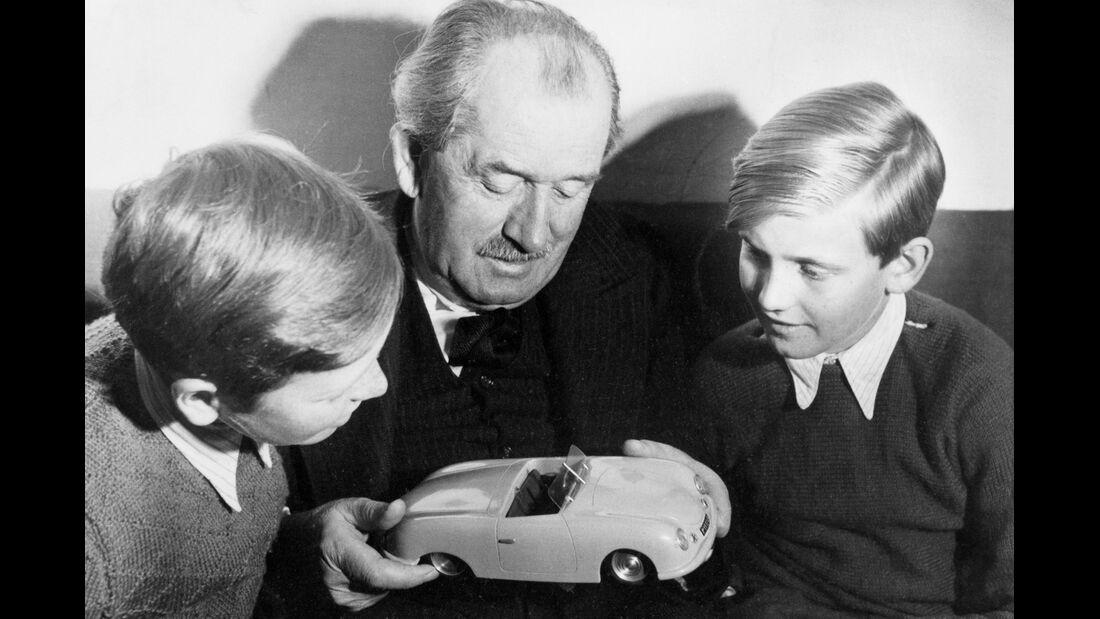 Ferdinand Porsche, Butzi, Burli