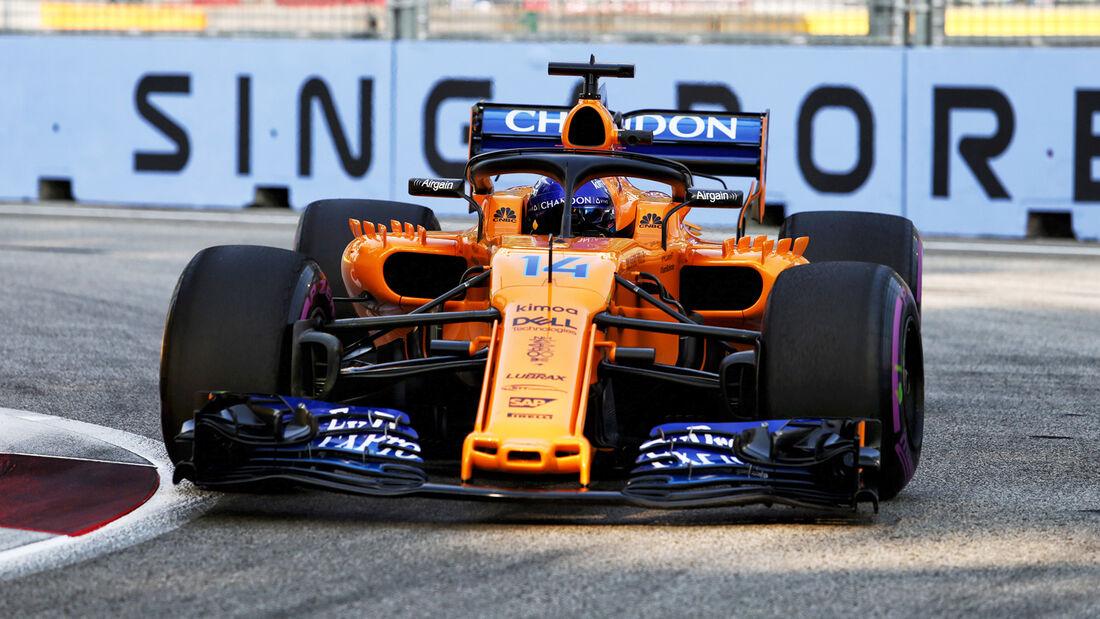 Fernand Alonso - GP Singapur 2018