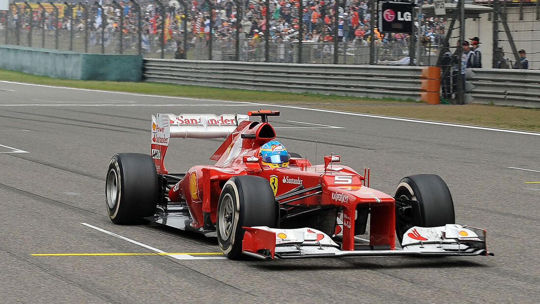 Fernando Alonso 2012 GP China