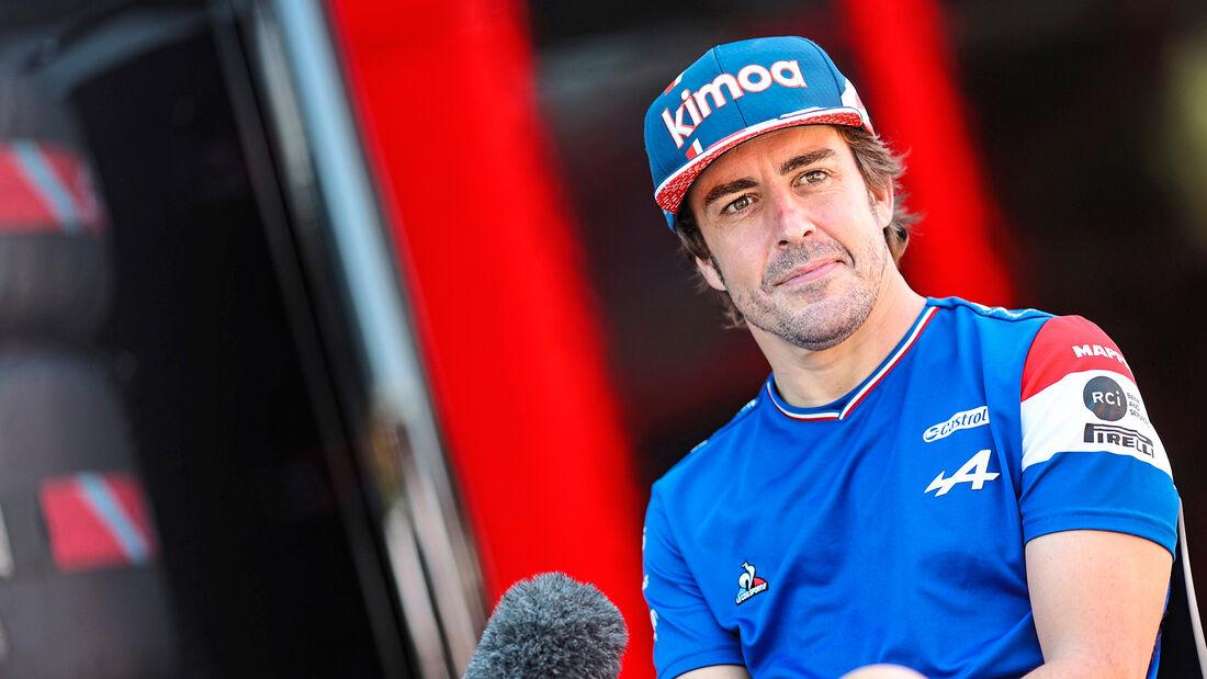 Fernando Alonso - Alpine - Formel 1