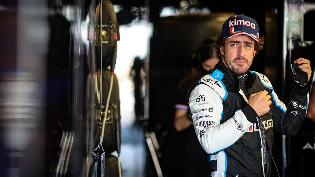 Fernando Alonso - Alpine - Formel 1 - GP Aserbaidschan - Baku - Freitag - 4.6.2021