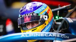 Fernando Alonso - Alpine - Formel 1 - GP Aserbaidschan - Baku - Samstag - 5.6.2021