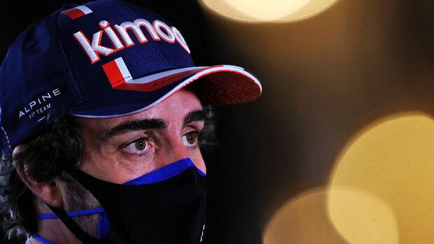 Fernando Alonso - Alpine - Formel 1 - GP Bahrain 2021