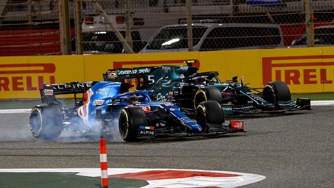 Fernando Alonso - Alpine - Formel 1 - GP Bahrain 2021 - Rennen