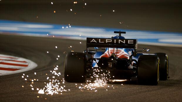 Fernando Alonso - Alpine - Formel 1 - GP Bahrain - Freitag - 26.3.2021