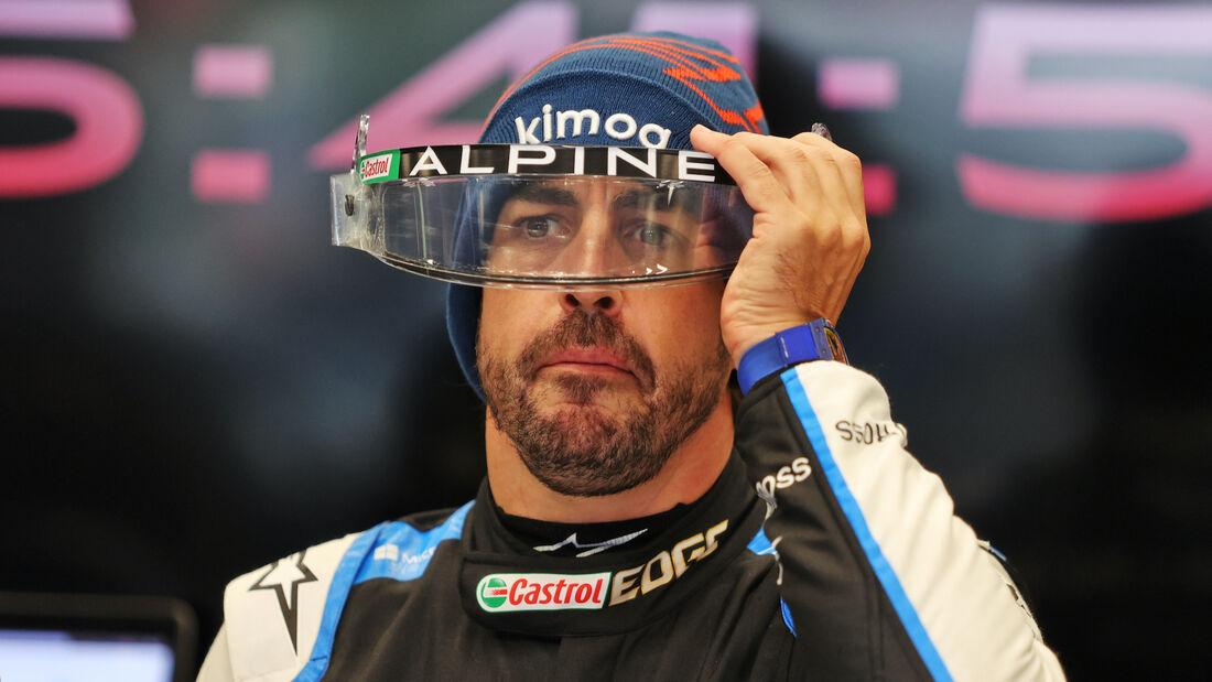 Fernando Alonso - Alpine - Formel 1 - GP Belgien - 29. August 2021