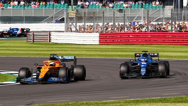 Fernando Alonso - Alpine - Formel 1 - GP England - Silverstone - 17. Juli 2021