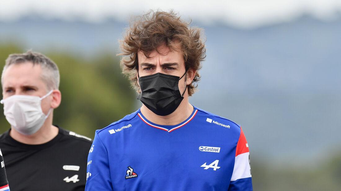 Fernando Alonso - Alpine - Formel 1 - GP Frankreich - 17. Juni 2021