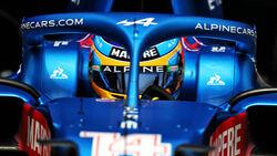 Fernando Alonso - Alpine - Formel 1 - GP Frankreich - Le Castellet - 19. Juni 2021