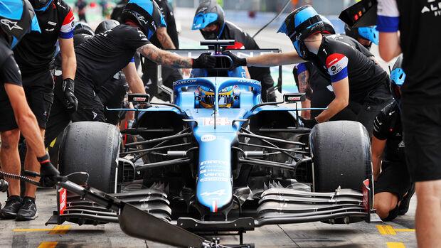 Fernando Alonso - Alpine - Formel 1 - GP Italien - Monza - 10. September 2021