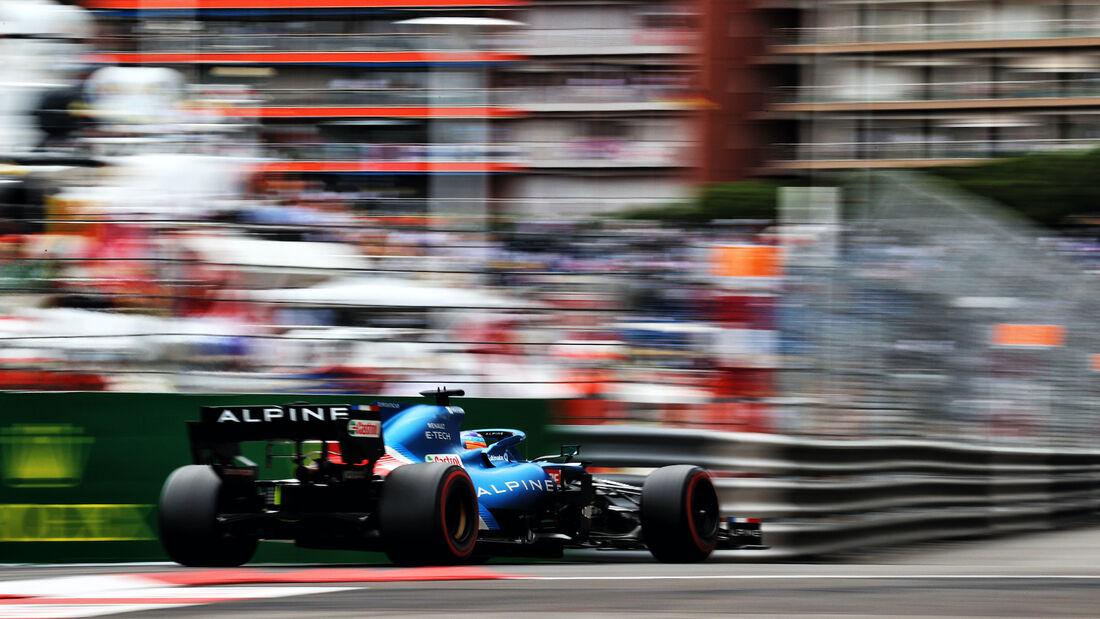 Fernando Alonso - Alpine - Formel 1 - GP Monaco 2021