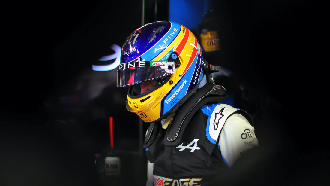 Fernando Alonso - Alpine - Formel 1 - GP Monaco - 22. Mai 2021