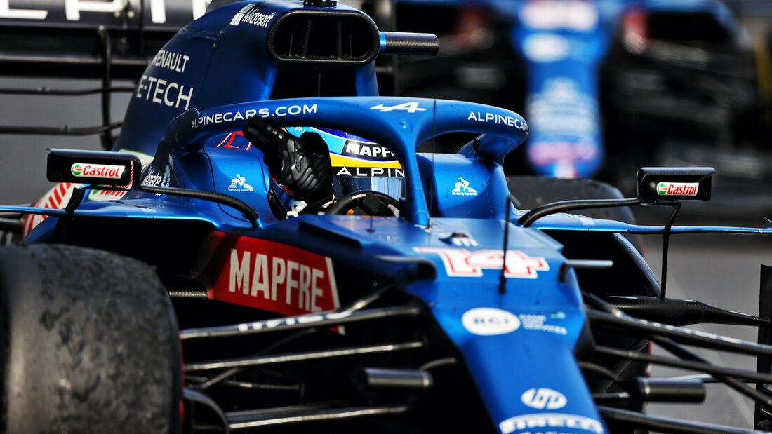 Fernando Alonso - Alpine - Formel 1 - GP Monaco - 23. Mai 2021