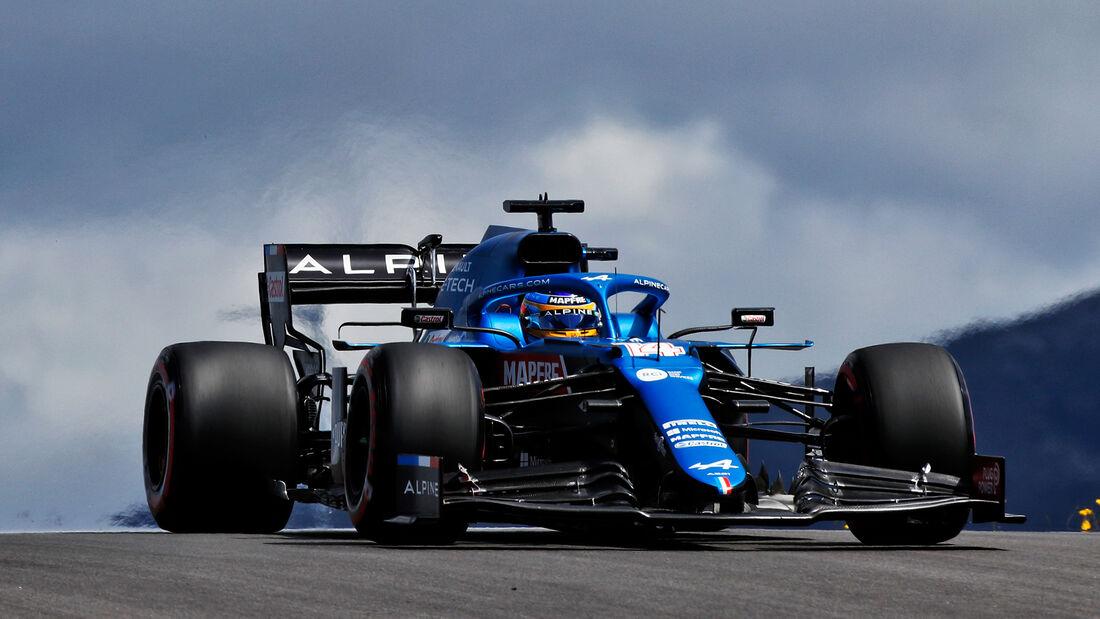 Fernando Alonso - Alpine - Formel 1 - GP Portugal - Portimao - 30. April 2021
