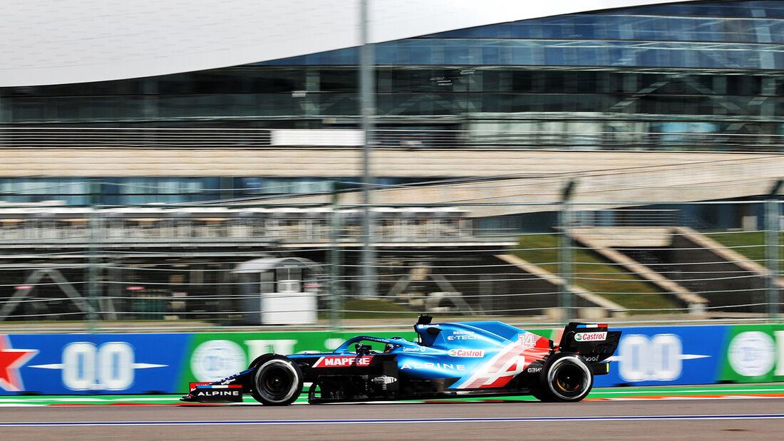 Fernando Alonso - Alpine - Formel 1 - GP Russland - Sotschi - 24. September 2021