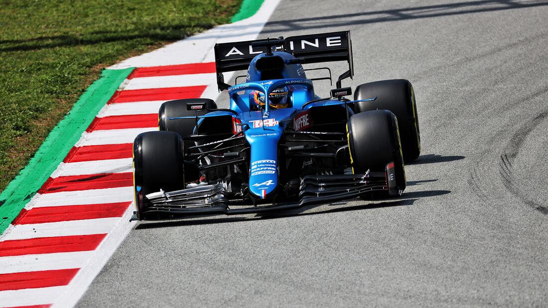 Fernando Alonso - Alpine - Formel 1 - GP Spanien - 7. Mai 2020