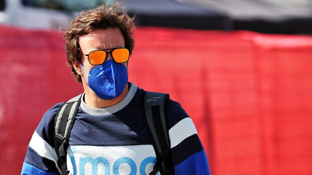 Fernando Alonso - Alpine - Formel 1 - GP Spanien - Donnerstag - 6.5.2021