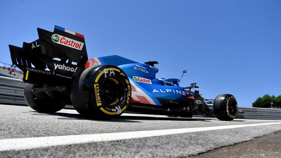 Fernando Alonso - Alpine - Formel 1 - GP Steiermark - 26. Juni 2021