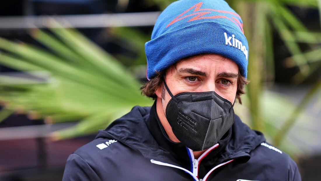 Fernando Alonso - Alpine - Formel 1 - Imola - GP Emilia-Romagna - 15. April 2021