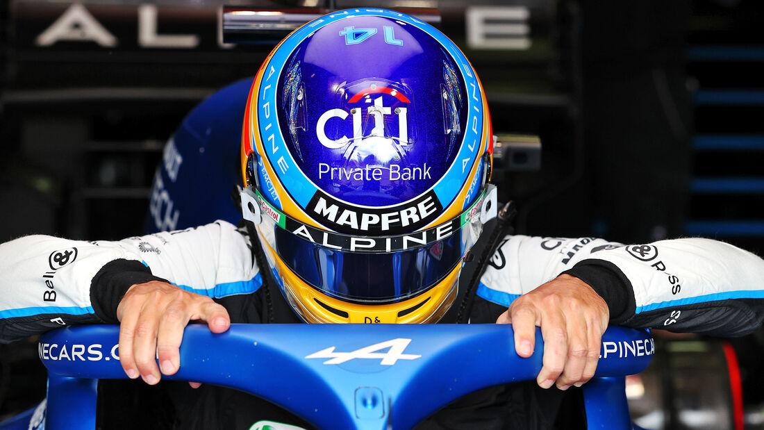 Fernando Alonso - Alpine - Formel 1 - Imola - GP Emilia Romagna - 16. April 2021