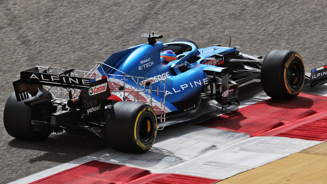 Fernando Alonso - Alpine - Formel 1 - Test - Bahrain - 13. März 2021