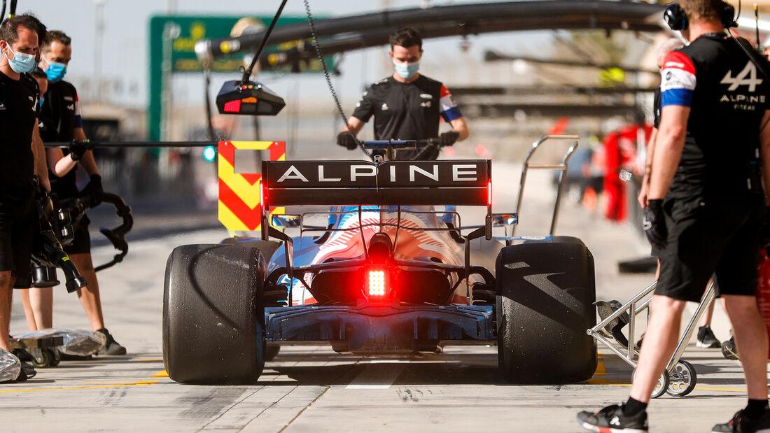 Fernando Alonso - Alpine - Formel 1 - Test - Bahrain - 14. März 2021