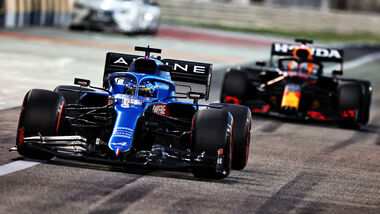 Fernando Alonso - Alpine - Formel 1 - Testfahrten - Bahrain