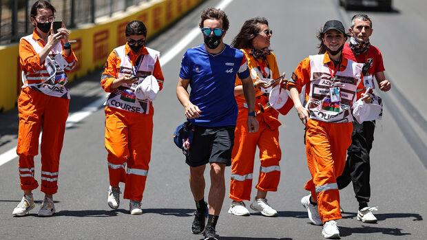 Fernando Alonso - Alpine - GP Aserbaidschan 2021 - Baku