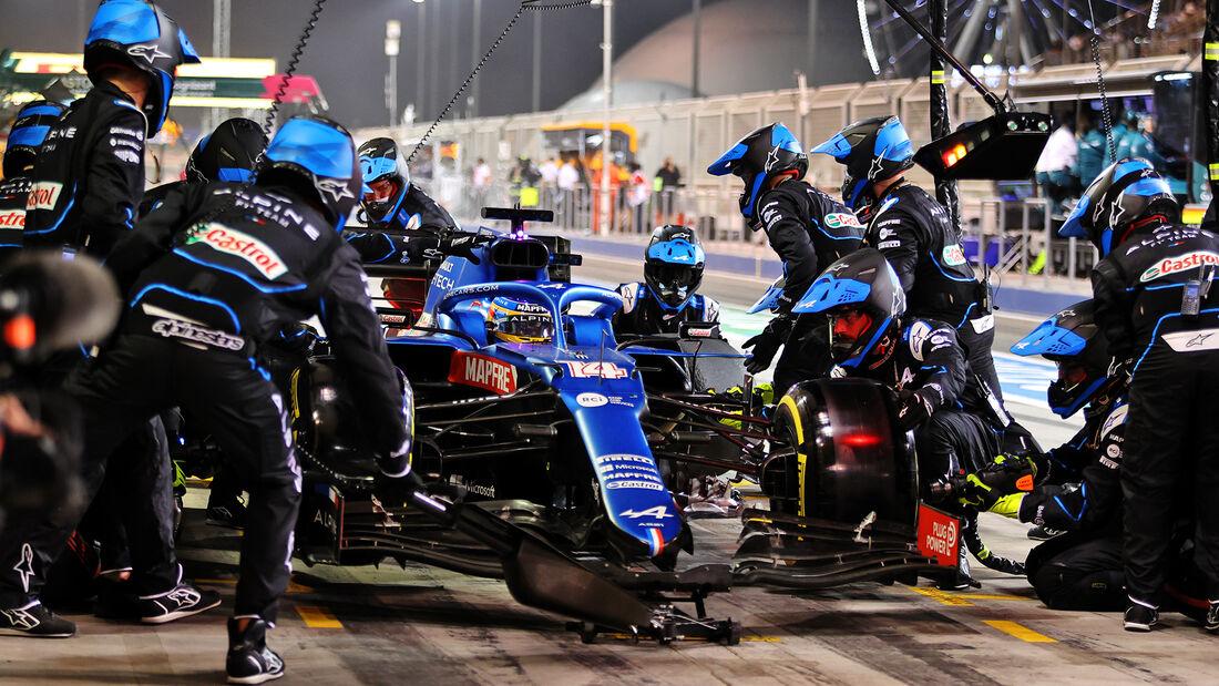 Fernando Alonso - Alpine - GP Bahrain 2021 - Rennen