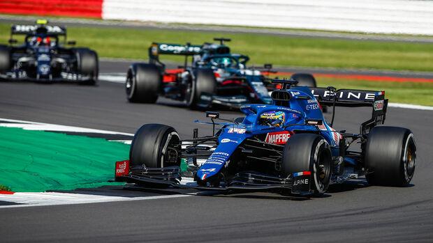 Fernando Alonso - Alpine - GP England 2021 - Silverstone