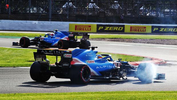 Fernando Alonso - Alpine - GP England - Silverstone  - Formel 1 - 16. Juli 2021