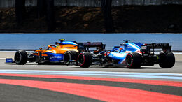 Fernando Alonso - Alpine - GP Frankreich - Le Castellet - Paul Ricard Circuit - 18. Juni 2021