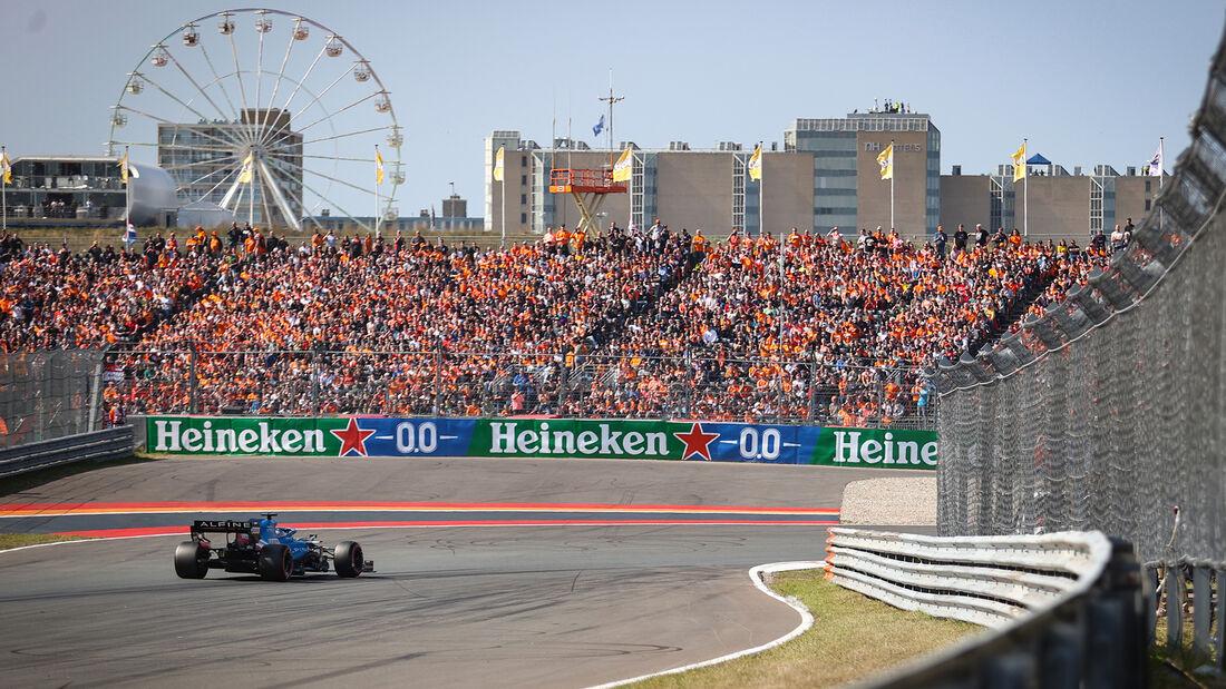 Fernando Alonso - Alpine - GP Niederlande - Zandvoort - Formel 1 - 3. September 2021
