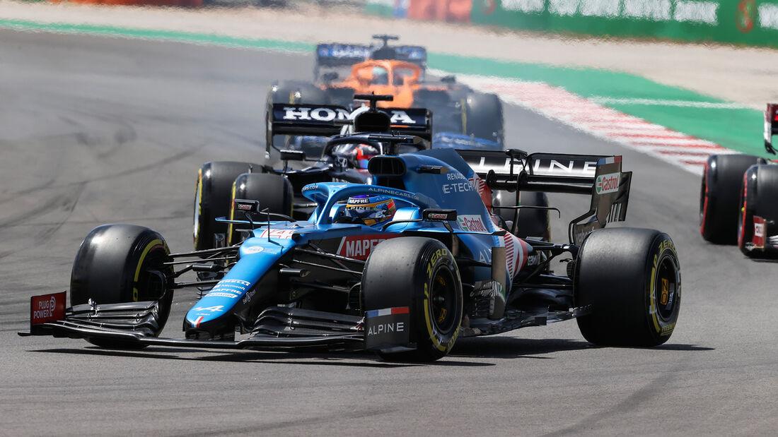 Fernando Alonso - Alpine - GP Portugal 2021 - Portimao