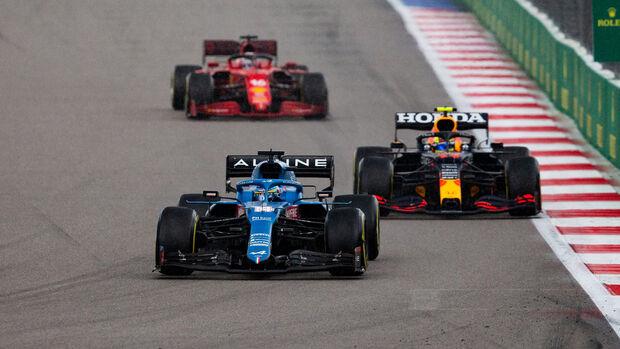 Fernando Alonso - Alpine - GP Russland 2021 - Sotschi
