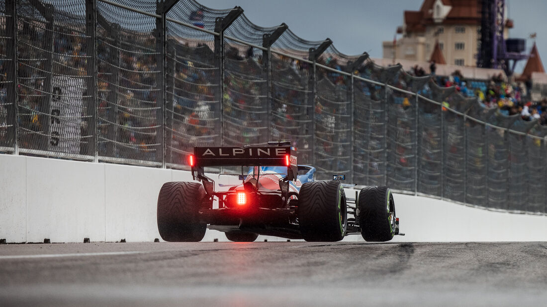 Fernando Alonso - Alpine - GP Russland 2021 - Sotschi - Samstag