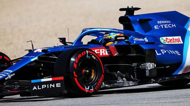 Fernando Alonso - Alpine - GP Spanien 2021