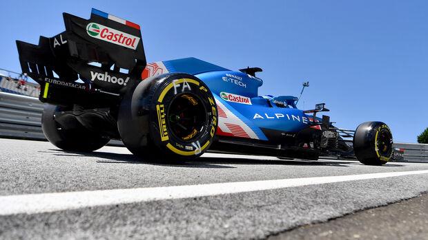 Fernando Alonso - Alpine - GP Steiermark 2021 - Spielberg
