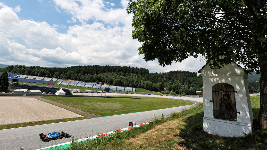 Fernando Alonso - Alpine - GP Steiermark - Spielberg - Formel 1 - 25. Juni 2021