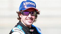 Fernando Alonso - Alpine - Test - Formel 1 - Bahrain - 12. März 2021