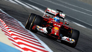 Fernando Alonso - Bahrain Test 2014