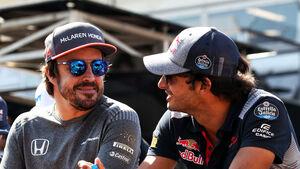 Fernando Alonso - Carlos Sainz - GP Aserbaidschan 2017 - Baku