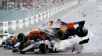Fernando Alonso - Charles Leclerc - GP Belgien 2018