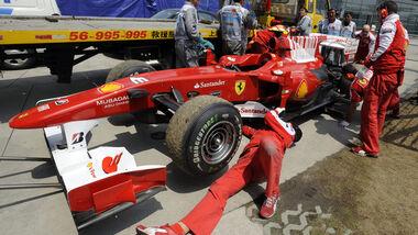 Fernando Alonso China 2010