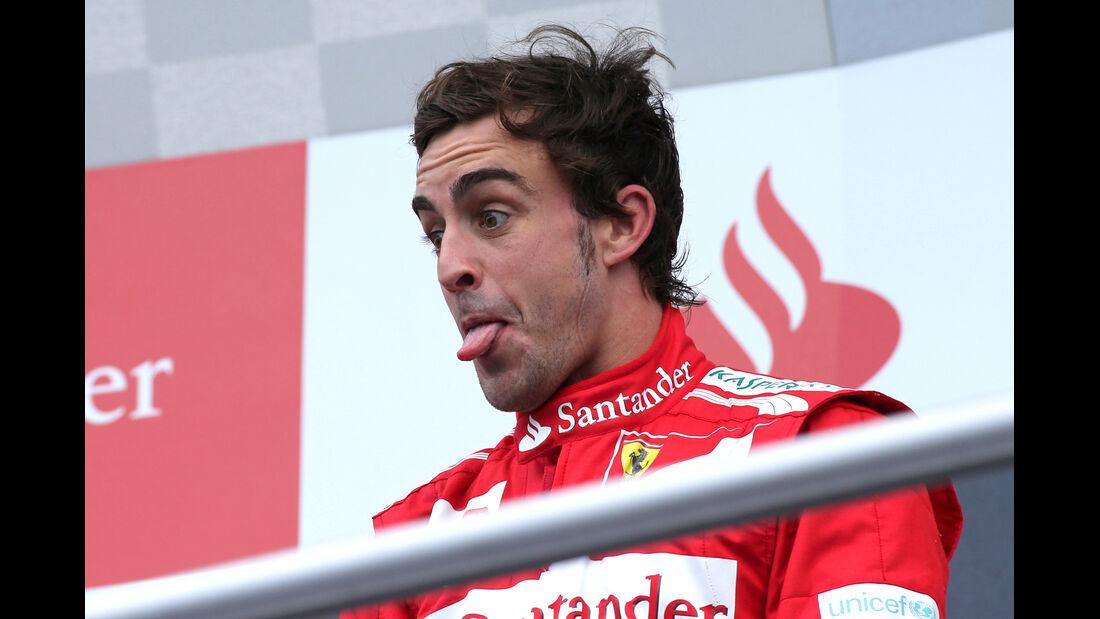 Fernando Alonso F1 Fun Pics 2012